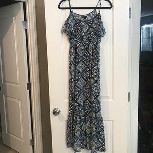 Cute Maxi Print Dress